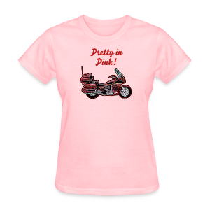Ladies T Front Voy Neon PrettynPink Custom - Women's T-Shirt