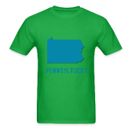 T-Shirts ~ Men's T-Shirt ~ Pennsyltucky Pennsylvania T-Shirt