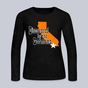 Discovered By The Germans - Women's Long Sleeve Jersey T-Shirt