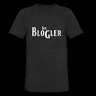 T-Shirts ~ Unisex Tri-Blend T-Shirt ~ Blogler - Vintage - White Text