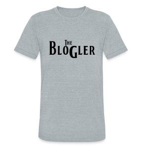 Blogler - Vintage - Black Text - Unisex Tri-Blend T-Shirt