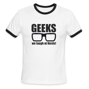 Geeks - Men's Ringer T-Shirt