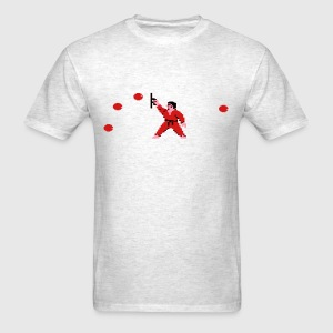 International Karate Men Grey - Men's T-Shirt