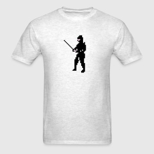 The Last Ninja Men Tshirt Grey - Men's T-Shirt