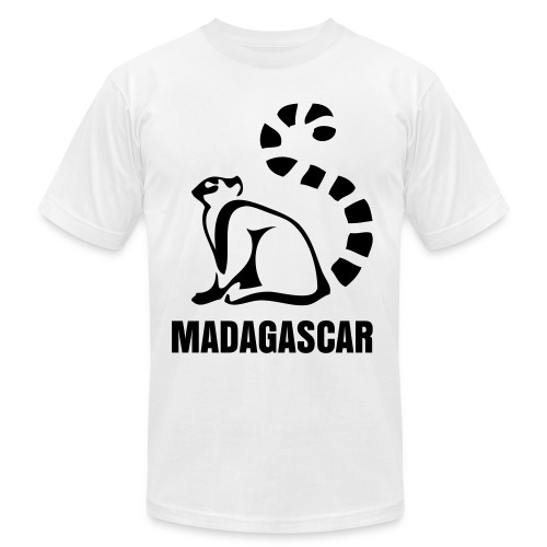 Mens Ring Lemur - Men's  Jersey T-Shirt