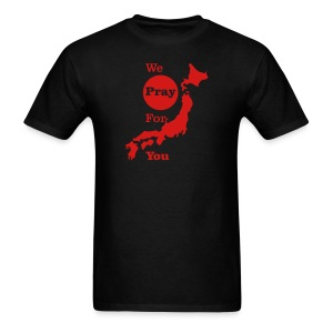 We Pray for you Japan - Men's T-Shirt