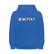 Sweatshirts ~ Kids' Hoodie ~ BACON DOG TEASE