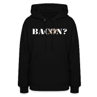Hoodies ~ Women's Hoodie ~ BACON DOG TEASE