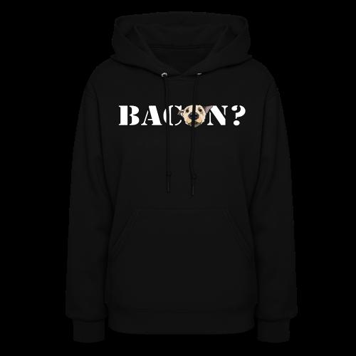 BACON DOG TEASE - Women's Hoodie