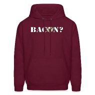 Hoodies ~ Men's Hoodie ~ BACON DOG TEASE