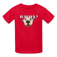 Kids' Shirts ~ Kids' T-Shirt ~ BACON DOG TEASE