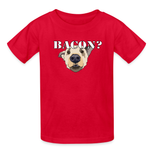 BACON DOG TEASE - Kids' T-Shirt