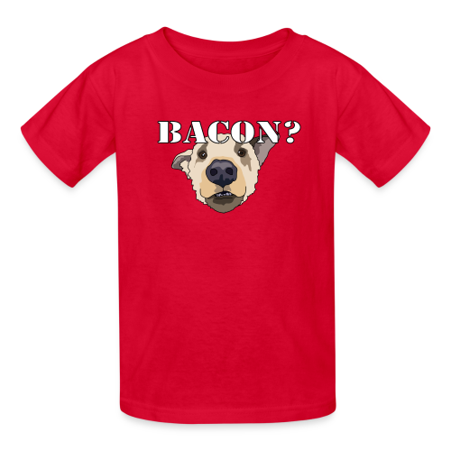 BACON DOG TEASE - Kids' T-Shirt