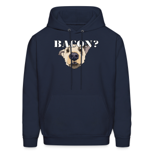 BACON DOG TEASE - Men's Hoodie