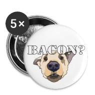 Buttons ~ Small Buttons ~ BACON DOG TEASE