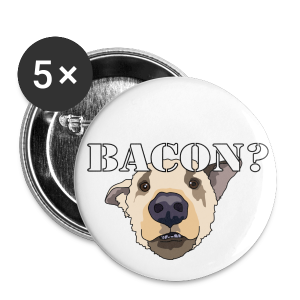 BACON DOG TEASE - Small Buttons