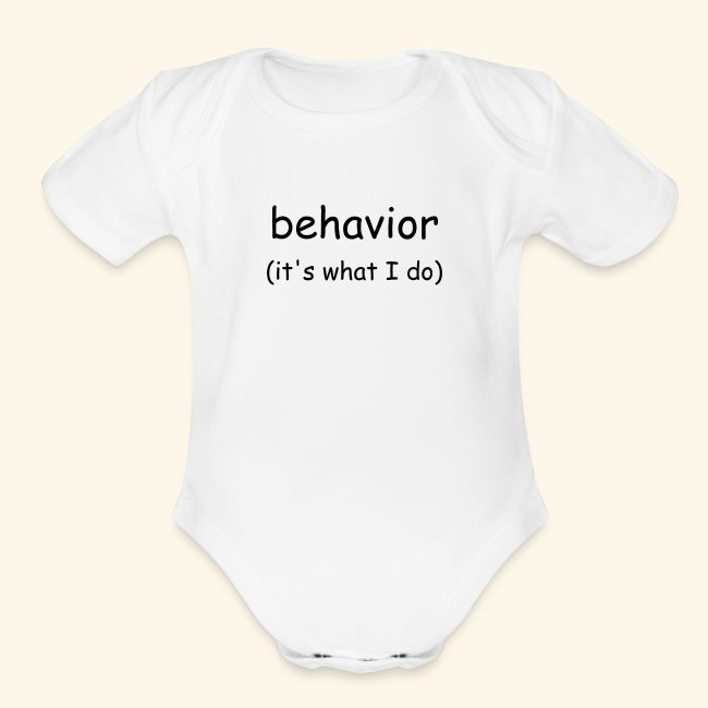 behavior (infant)