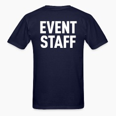 Event Staff Navy Shirt