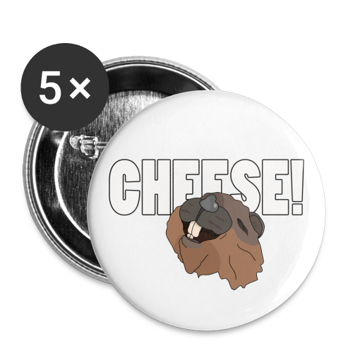 CHEESE! - Small Buttons