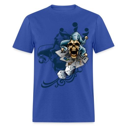 S-105 Jester Skull Men's T - Men's T-Shirt
