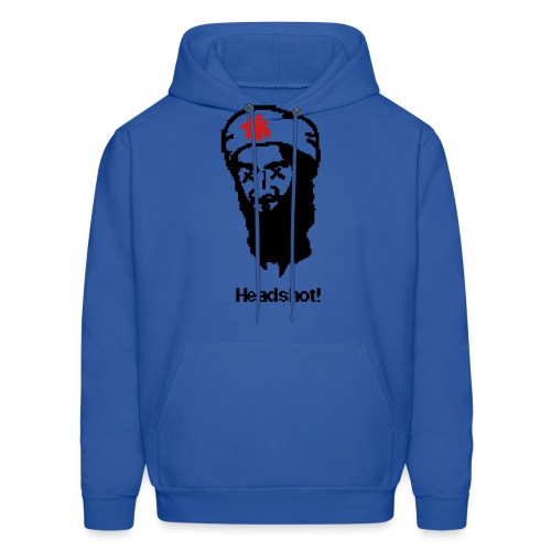 Osama Bin Laden Headshot! - Men's Hoodie