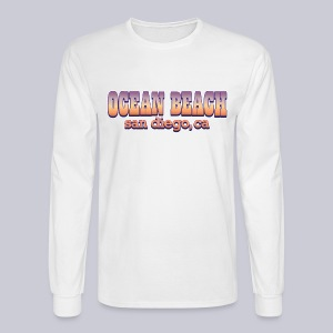 Ocean Beach San Diego Ca - Men's Long Sleeve T-Shirt