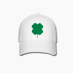 four leaf clover 2 color cute Caps