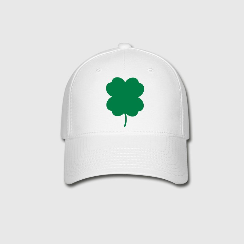 four leaf clover 2 color cute Caps - Baseball Cap