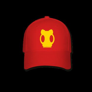 cute girly skull Caps