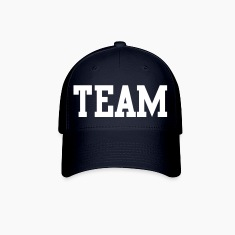 team in college font Caps