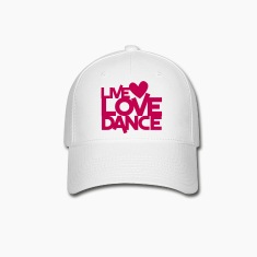 live love dance Caps