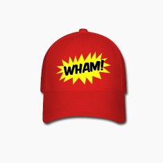 wham! with starburst comic hero Caps