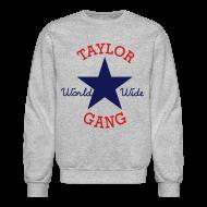 Long Sleeve Shirts ~ Crewneck Sweatshirt ~ Taylor Gang World Wide Sweater
