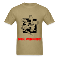 T-Shirts ~ Men's T-Shirt ~ Duh, Winning! T-Shirt