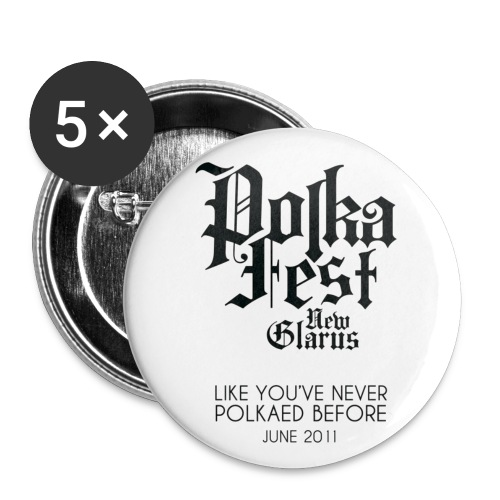 Polka Fest 2011 - Large Buttons