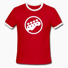 Scott Pilgrim Red Rock Band Shirt