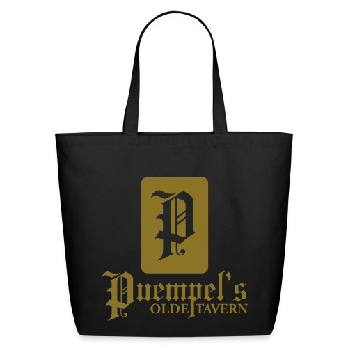 Puempel's Golde Tote - Eco-Friendly Cotton Tote