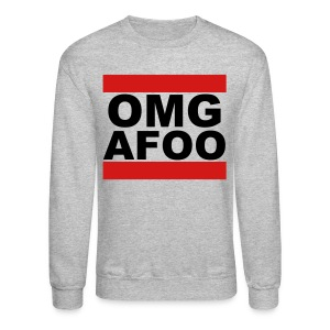 RUN OMG Sweatshirt (black) - Crewneck Sweatshirt