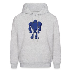 Big Blue Bot - Men's Hoodie