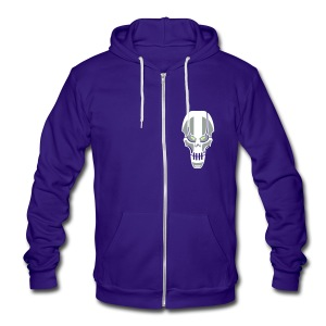 rObOt - Unisex Fleece Zip Hoodie by American Apparel