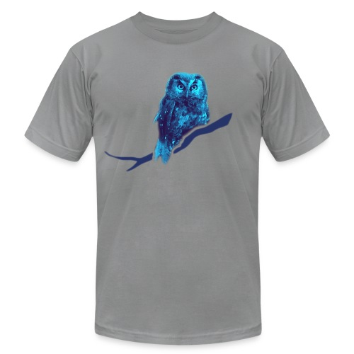 shirt owl owlet bird night wings feather nature forest hunter hunting - Men's  Jersey T-Shirt