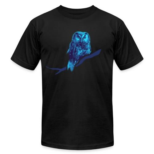 shirt owl owlet bird night wings feather nature forest hunter hunting - Men's Fine Jersey T-Shirt