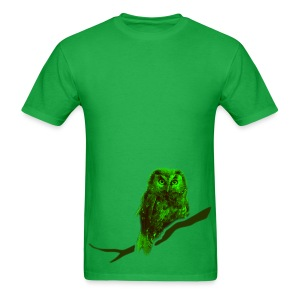 shirt owl owlet bird night wings feather nature forest hunter hunting - Men's T-Shirt