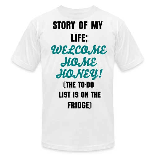 Welcome Home - Men's  Jersey T-Shirt