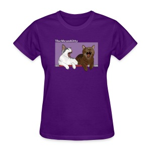 TheMeanKitty - Women's T-Shirt