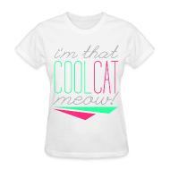 Women's T-Shirts ~ Women's T-Shirt ~ [SHINee] Cool Cat