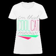 Women's T-Shirts ~ Women's T-Shirt ~ [SHINee] Cool Cat