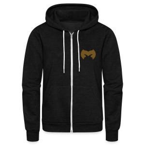 Magiranger - Magical Robe Hoody - Unisex Fleece Zip Hoodie by American Apparel