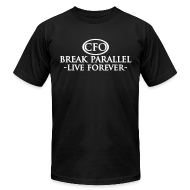 T-Shirts ~ Men's T-Shirt by American Apparel ~ Mens - Break Parallel