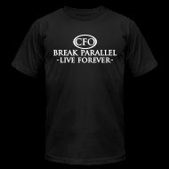 T-Shirts ~ Men's T-Shirt by American Apparel ~ Mens - Break Parallel